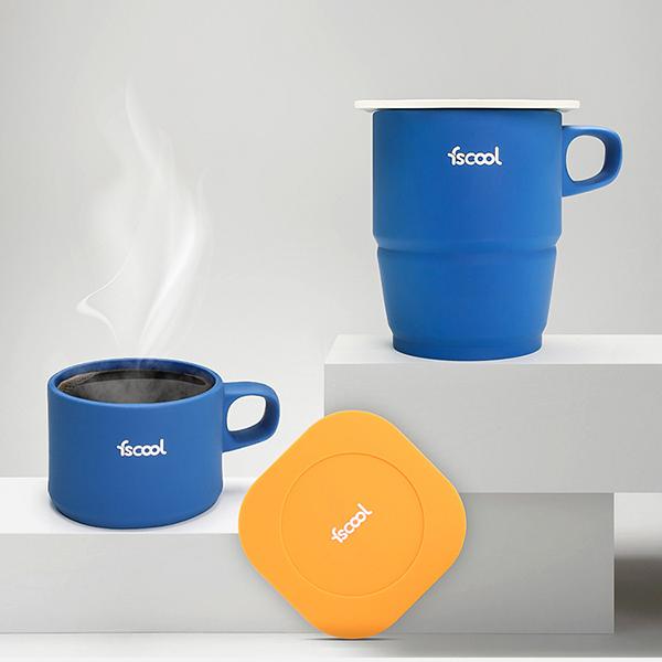 硅膠摺疊咖啡杯230ml