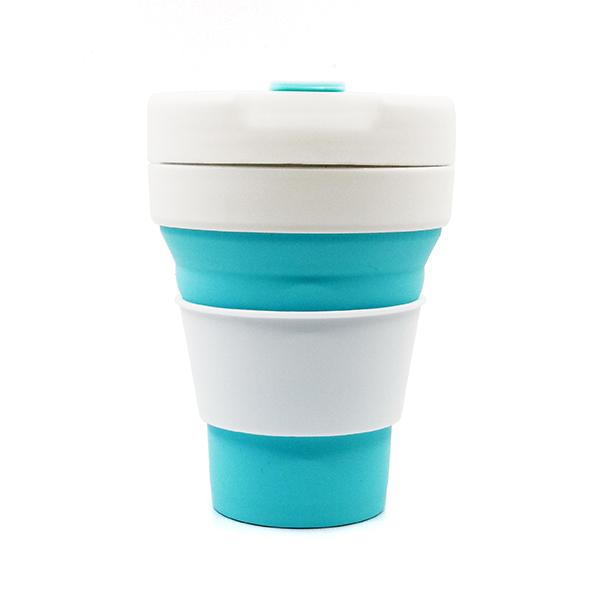 摺疊硅膠咖啡杯