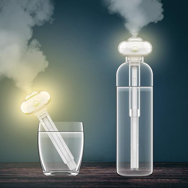 LED水晶加濕器