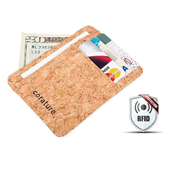 環保軟木RFID防盜卡套