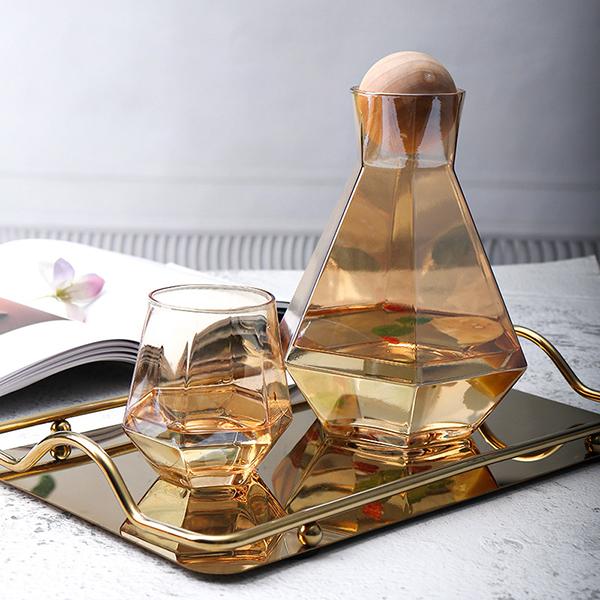 鑽石玻璃水杯套裝